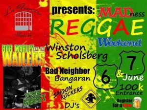 Reggae Madness Weekend